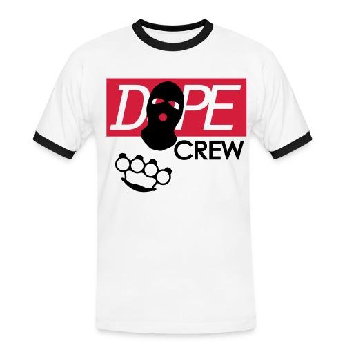 dope crew 69 - Camiseta contraste hombre