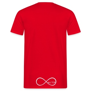 Tee Shirt Swag AU TOP Rouge - T-shirt Homme