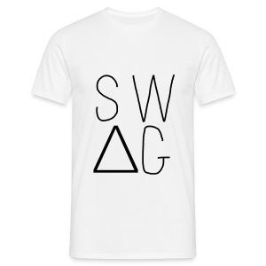 Tee Shirt Swag AU TOP Blanc - T-shirt Homme