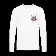Long sleeve shirts ~ Men's Premium Longsleeve Shirt ~ Men's Long Sleeved BH Logo Breast