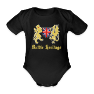 Baby Bodysuits ~ Baby Bodysuit ~ Battle Baby Dragon & Lion Logo