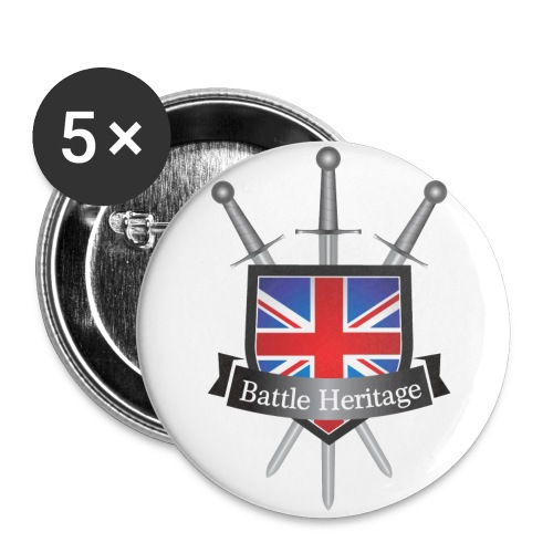 BH Logo Badges - Buttons large 2.2''/56 mm (5-pack)