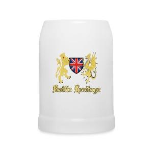 Dragon & Lion Logo Beer Mug - Beer Mug