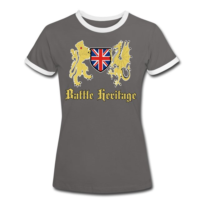 Women's T Shirt Dragon & Lion Logo