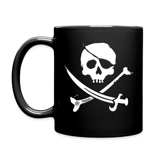 Pirate Crew - All-Color Coffee Mug (white print) - Mok uni