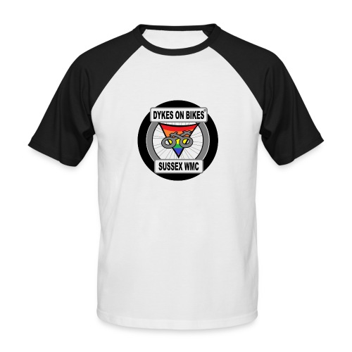 DOB Sussec old style logo Baseball T-Shirt - Men's Baseball T-Shirt