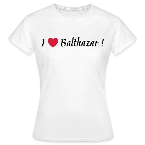 I Love Balthazar ! White - T-shirt Femme