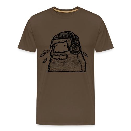 The Beard2Ride (by Mata7ik) - T-shirt Premium Homme