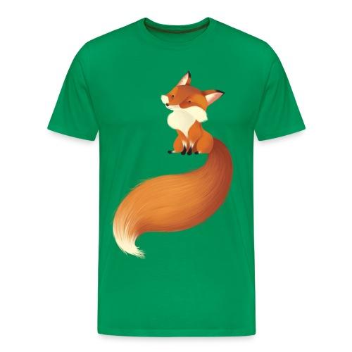Cute Fox - T-shirt Premium Homme