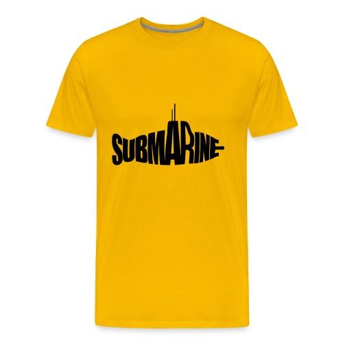 (Yellow) Submarine - Mannen Premium T-shirt