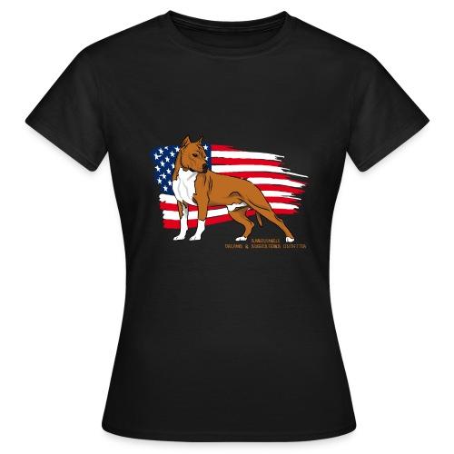 AMERICAN STAFF GIRL - T-shirt Femme