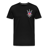 T-Shirts ~ Men's Premium T-Shirt ~ Men's T-Shirt BH Logo Black