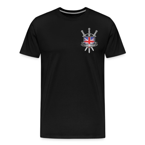 Men's T-Shirt BH Logo Black - Men's Premium T-Shirt