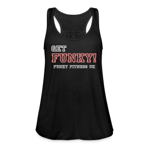 Get Funky! Women's Flowy Tank Top - Women's Tank Top by Bella