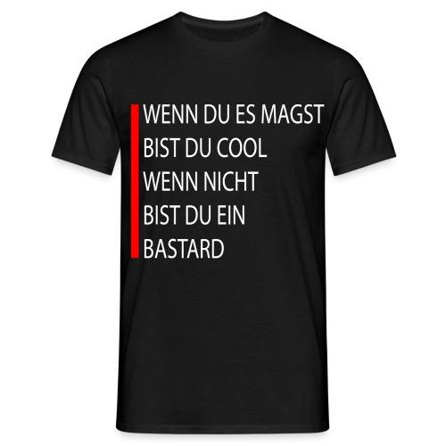 Bastard - Männer T-Shirt