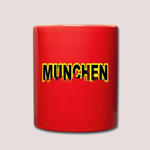 MÜNCHEN - Tasse einfarbig