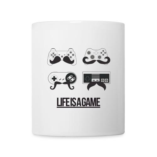 TASSE LIFEISGAME - Mug blanc