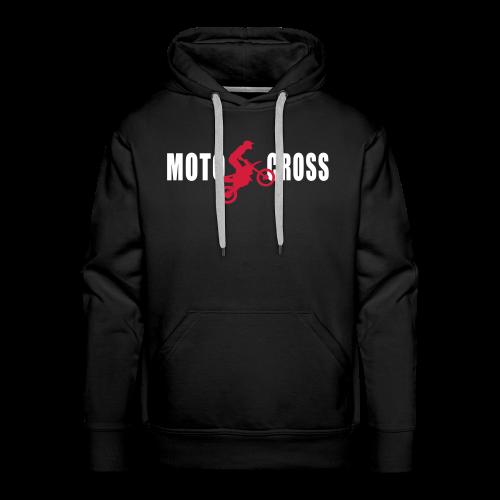 Air Moto Cross - Sweat-shirt à capuche Premium pour hommes