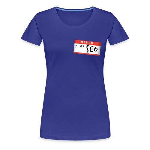 Hello W - T-shirt Premium Femme
