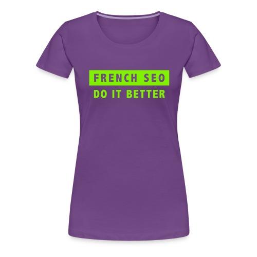 French green 2 - T-shirt Premium Femme