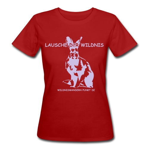 Frauen Bio-T-Shirt - Wildniswandern