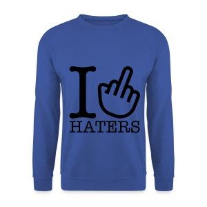 F### Haters - Men's Sweatshirt