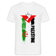 Tee shirts ~ Tee shirt Homme ~ Algérie Palestine