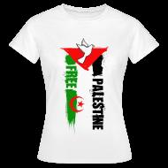 Tee shirts ~ Tee shirt Femme ~ Algérie Palestine