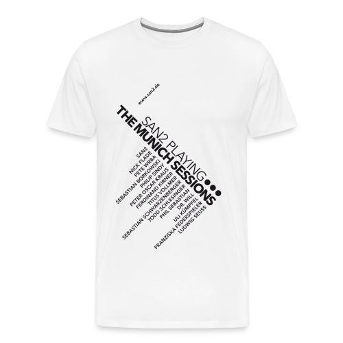 Munich Sessions white - Männer Premium T-Shirt