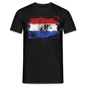 Holland Vlag  - Mannen T-shirt