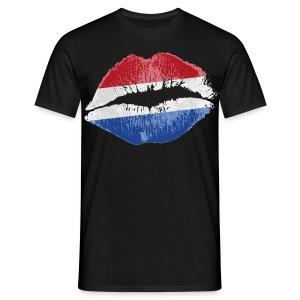 Holland lippen - Mannen T-shirt