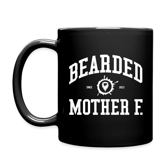 Bearded Mother F. - All-Color Coffee Mug (white print)
