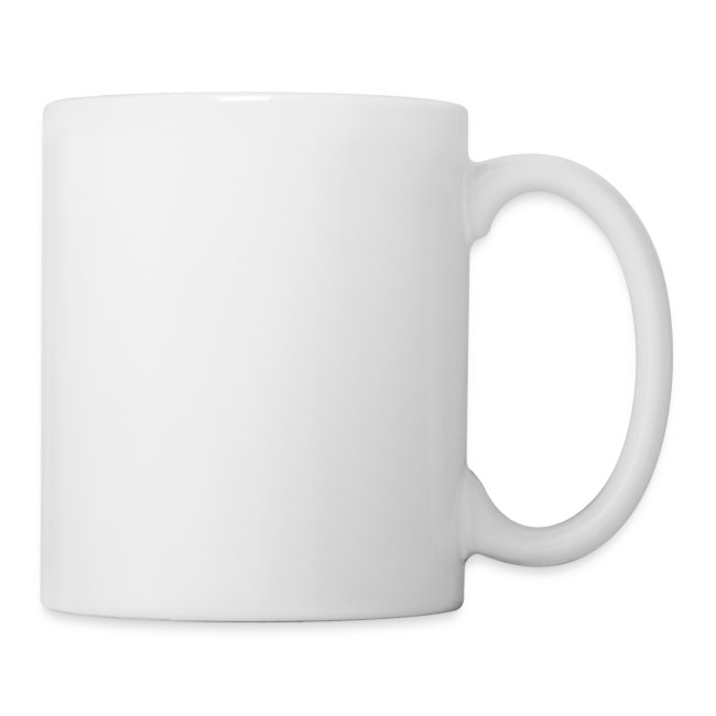 Moustache - All-white Coffee Mug