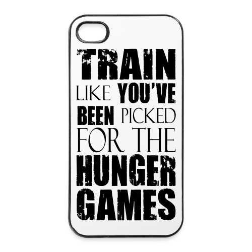 Train like you've been picked for the Hunger Games - iPhone 4/4s Hard Case