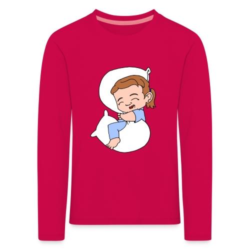 Kids' Sleeping Girl Premium Longsleeve T - Kids' Premium Longsleeve Shirt