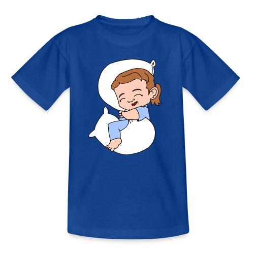 Kids' Basic Sleeping Girl T shirt - Kids' T-Shirt