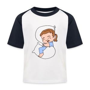 Kids' Sleeping Girl Baseball T - Kids' Baseball T-Shirt