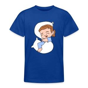 Teenagers' Basic Sleep Girl T Shirt - Teenage T-shirt