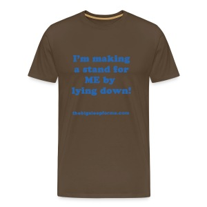 Men's Premium Slogan B T Shirt - Men's Premium T-Shirt