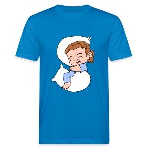 Men's Organic Sleeping Girl T Shirt - Men's Organic T-shirt