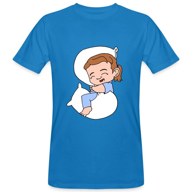 Men's Organic Sleeping Girl T Shirt