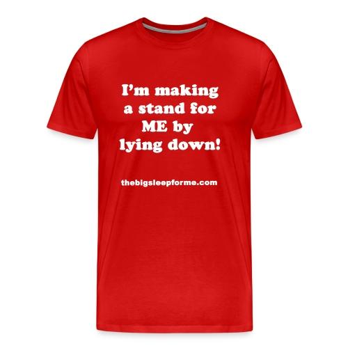 Men's Premium Slogan W T Shirt - Men's Premium T-Shirt