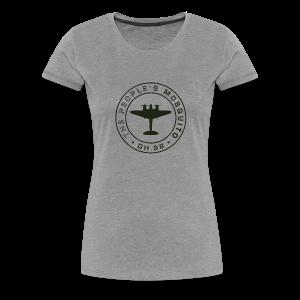 Women's MP T-Shirt - Grey - Women's Premium T-Shirt
