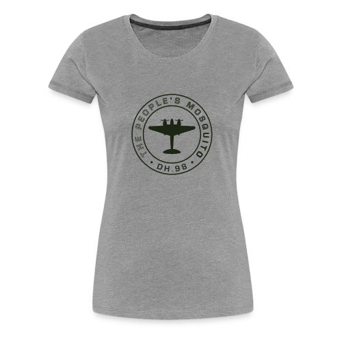 Women's MP T-Shirt - Grey - Women's Premium T-Shirt