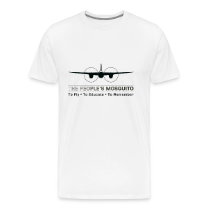 Men's Motto T-Shirt - White - Men's Premium T-Shirt