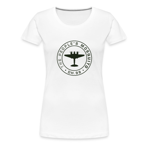 Women's MP T-Shirt - White - Women's Premium T-Shirt