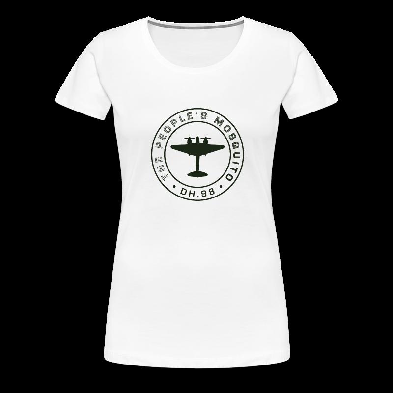 Women's MP T-Shirt - White - Women's Premium T-Shirt