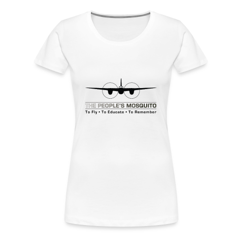 Women's Motto T-Shirt - White - Women's Premium T-Shirt
