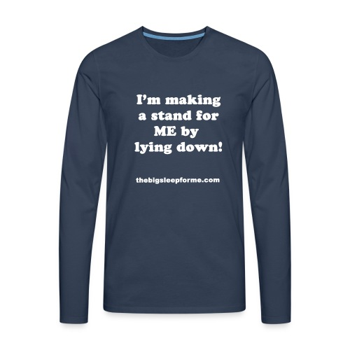 Men's Slogan W Premium Longsleeve T - Men's Premium Longsleeve Shirt