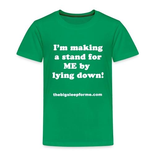 Kids' Slogan W T-Shirt - Kids' Premium T-Shirt